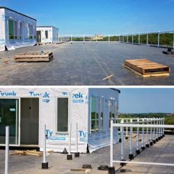 Hustad Companies Commercial Roof Projects